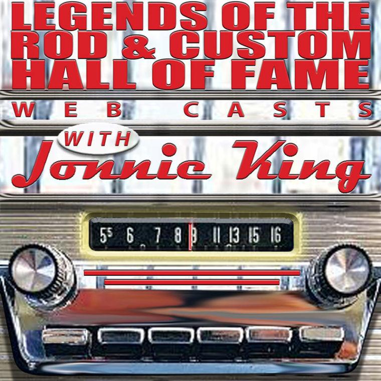 Logo for Jonnie King's Hall of Fame Legends website