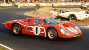 Le Mans 24 Hours Race 11th June 1967. Dan Gurney, A. J. Foyt Ford Mk IV race winner.