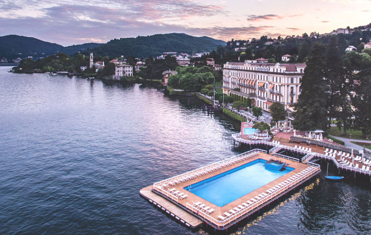 The five-star hotel Villa d'Este on Lake Como